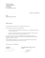 courrier sanitaire 1er oct