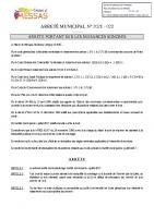 ARRETE 2021 nuisances sonores