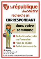 affichette recherche de correspondants La Rep (1)