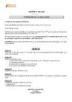 N° 28 ARRETE TEMPORAIRE DE CIRCULATION INEO PRESSOIR BEZARD